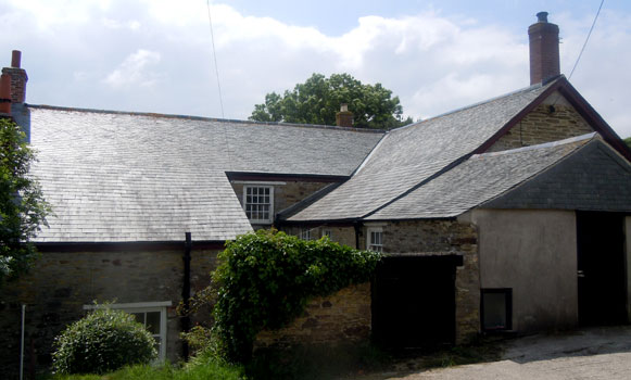 Scantle Slate Roof Tiles Cornish Delabole